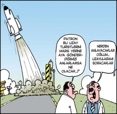 Uzaylı Karikatürler