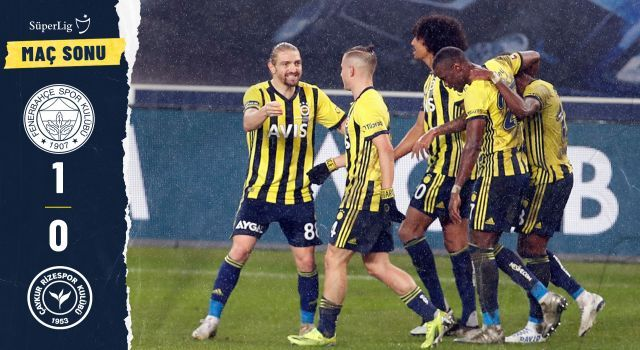 Fenerbahçe 1-0 Ç. Rizespor