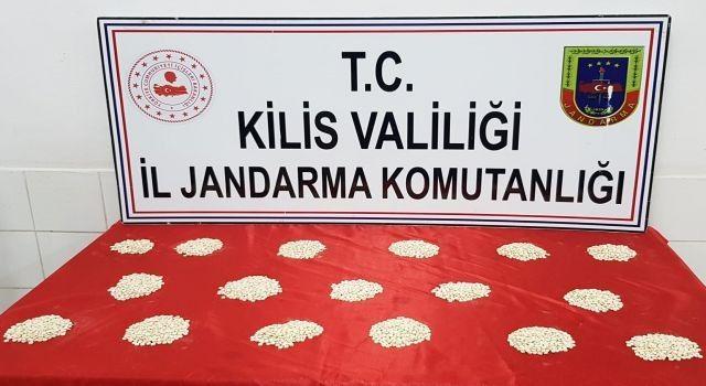 Jandarmadan Kilis'te uyuşturucu operasyonu!