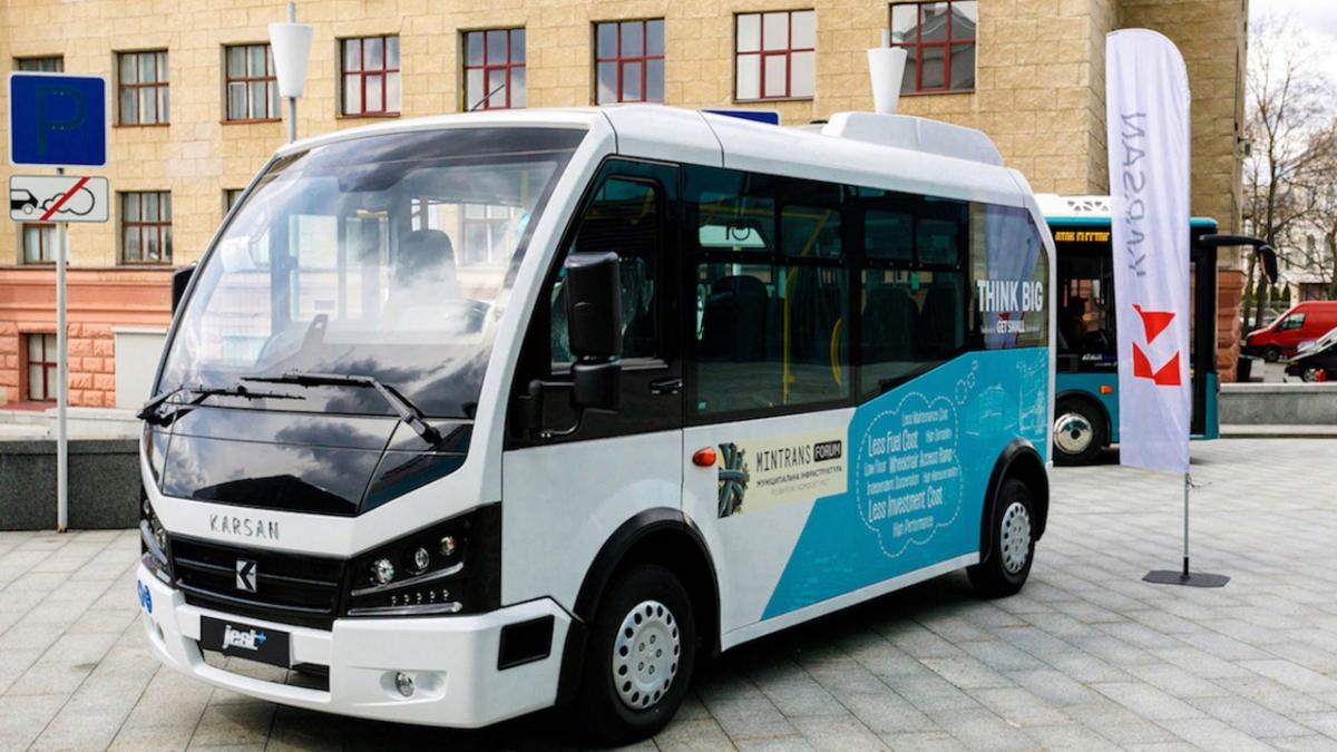 Karsan, Ukrayna'nın toplu taşımacılığında yer alacak