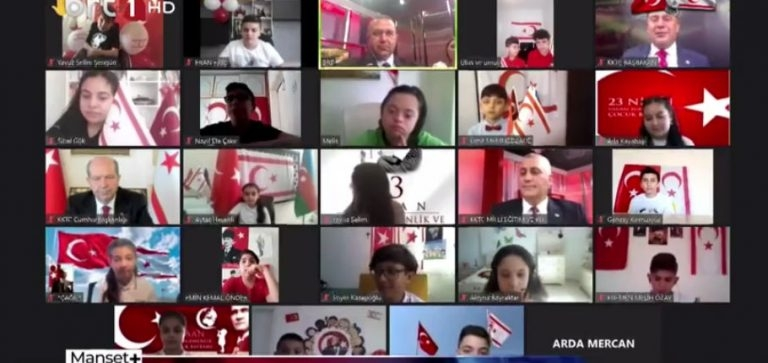 Kıbrıs'ta çocuklarla dijital buluşma