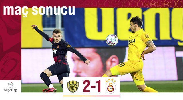 MKE Ankaragücü 2-1 Galatasaray