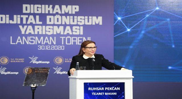 Ticaret Bakanlığı Digikamp Dijital Dönüşüm Yarışması'nı başlattı