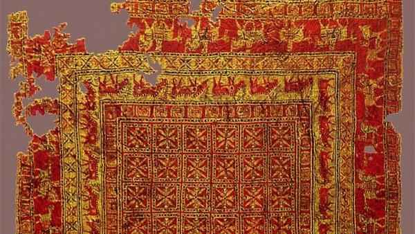 2500 yıllık Türk motifli halının sırrı çözüldü!