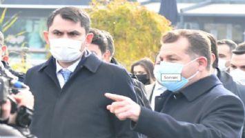 Bakan Murat Kurum Balıkesir'de incelemelerde bulundu