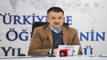 Bakan Pakdemirli: 'Tarımı plazalarda çalışmaktan daha cazip bir iş alanına dönüştürmek istiyoruz'