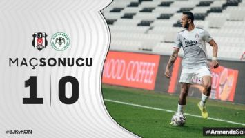 Beşiktaş 1-0 Konyaspor