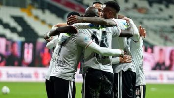 Beşiktaş, Rizespor'u farklı geçti