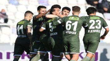 Bursaspor Keçiörengücü'nü deplasmanda yendi