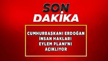 Cumhurbaşkanı Erdoğan İnsan Hakları Eylem Planı'nı açıklıyor