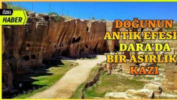 Doğu'nun antik efesi Dara'da bir asırlık kazı... (Özel Haber)