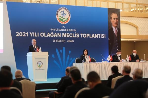 Enerji Kentleri Birliği'nde Başkan Zolan güven tazeledi