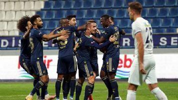 Fenerbahçe Kasımpaşa'ya patladı