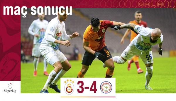 Galatasaray 3-4 Çaykur Rizespor