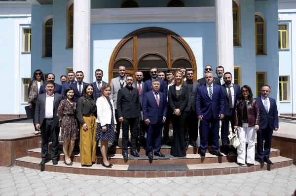 Kırgızistan'la ticaret TÜGİAD'la artacak