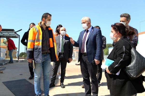Kocaeli Büyükşehir'den Gebze'deki projelere yakın mercek
