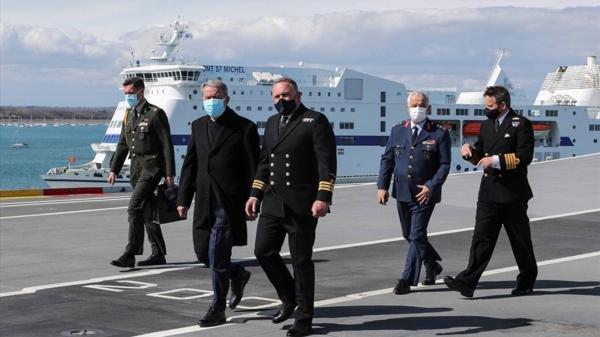 Milli Savunma Bakanı Akar, İngiltere temaslarını sürdürüyor