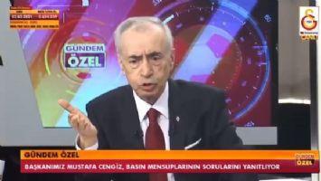 Mustafa Cengiz'den Fenerbahçeye : Sen Türk futboluna zarar veriyorsun