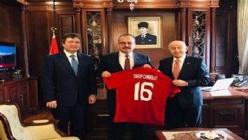 TFF Başkanı Nihat Özdemir, Bursa'da önemli ziyaretler gerçekleştirdi