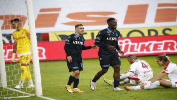 Trabzonspor 3 puanı 'Göz'üne kestirdi
