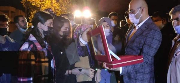 Trafik kazasında hayatını kaybeden polis memuru memleketi Siirt'te defnedildi