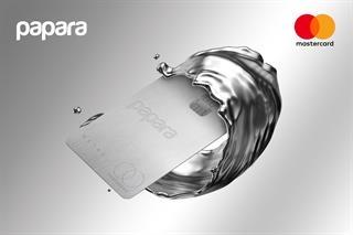 Türkiye'nin ilk metal ön ödemeli kartı Mastercard ve Papara'dan