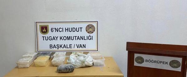 Van'da jandarmadan uyuşturucu operasyonu